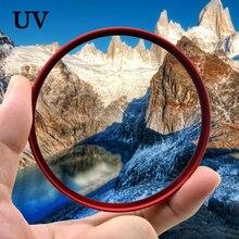 Knightx UV HD MC Bộ Lọc Ống Kính Camera Cho Canon Sony Nikon DSLR 200D Đèn D70 18 135 Phụ Kiện Chụp Ảnh 50D 52 Mm 58 Mm 67 Mm