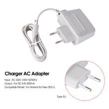 EU Charger AC Adapter for Nintendo for new 3DS XL LL for DSi DSi XL 2DS