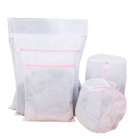 New 5 PCS Delicates Laundry Bags Protection Washing Drying Bag Washing Bags Laundry Bags     -