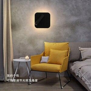 Image 5 - Đèn LED Dán Tường Đọc 3W 6W Dải Ánh Sáng Đèn Sau Phòng Ngủ Nghiên Cứu Phòng Khách Sconce Điều Chỉnh Có Công Tắc đầu Giường Đèn