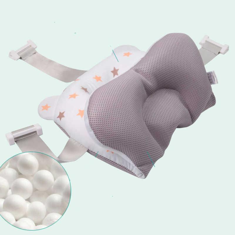 Almofada de banho de segurança de segurança do bebê almofada de apoio de banho macio almofada de banho de segurança dos desenhos animados