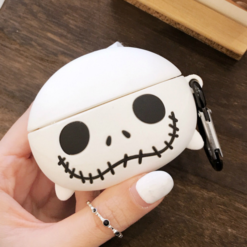 Cartoon The Joker Bluetooth Earphone Case for AirPods Pro Cute Headphones Case for Airpods Pro Silicone Protective Cover 3D