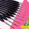 9/11 Pcs Hook Line Pen Watercolor Brush Round Tip Detail Paint Brushes Set Fun At Home Art Supplies A2007-S2 1