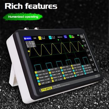 2 Channel 100MS/s MINI Nano1013D Professional Portable Digital Oscilloscope Digital Probe Digital Touch Tablet Oscilloscope hantek 3in1 2d72 2c7 2d42 2d72 250msa s digital oscilloscope waveform generator multimeter usb portable 2 channel multifunction