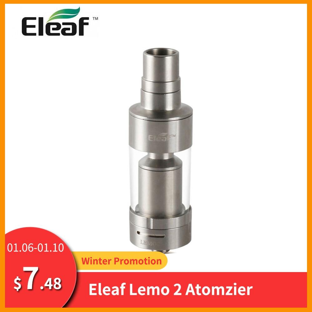RU/ES Warehouse Big Sale Original Eleaf Lemo 2 Atomizer With 3.8ml Capacity For Cuboid Mini/Unimax  Electronic Cigarette