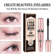 Aliver 4D Big Eye Mascara Waterdichte Vrouwen Make-Up Sneldrogende Niet Bloeiende Krul Dikke Slanke Mascara Zwarte Kleur TSLM1