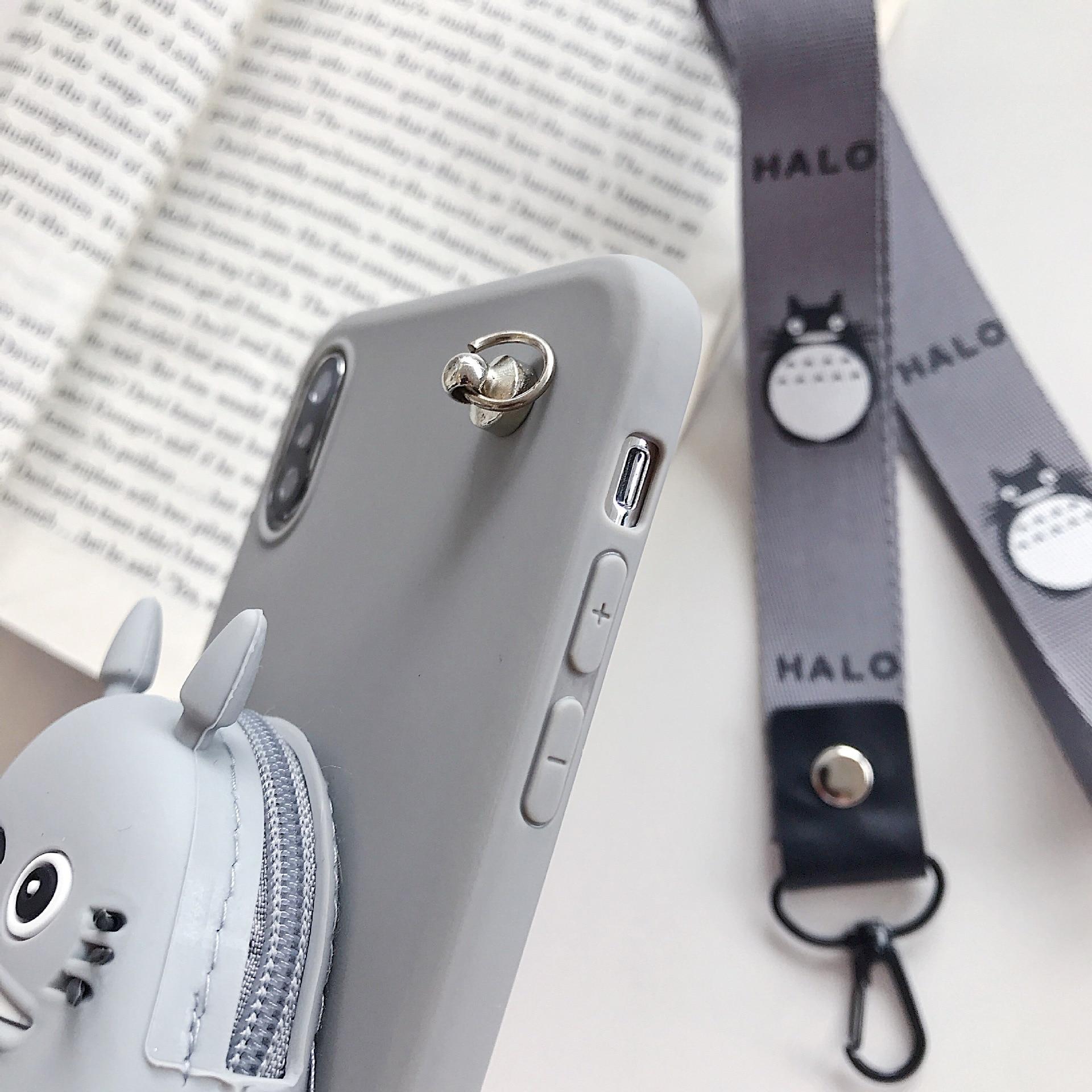 Cartoon DIY 3D Wallet Soft Silicone Case For Xiaomi Redmi Note 9 Pro Max 8T 8 Pro 7 Cute Cat TPU Cover