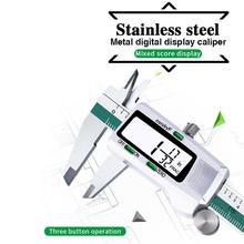150 MM/6 zoll Präzision Elektronische Digital LCD Messschieber Werkzeug Lineal Mess Werkzeuge Gauge Edelstahl