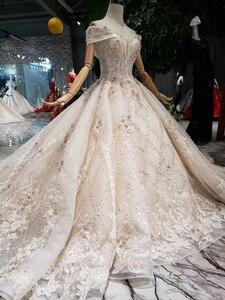 Image 3 - Роскошное Свадебное платье BGW HT43027, 2020 г., Международный модный дизайн, платье для невесты ручной работы, свадебное платье