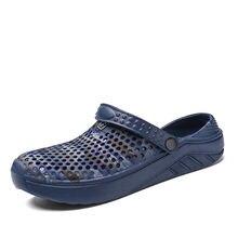Для Мужчин's сандалии черепки Летняя обувь с открытым носком