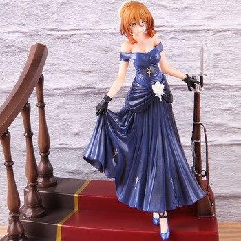Muñecas de decoración de regalo de juguete modelo de Anime de primera línea de PVC para niñas