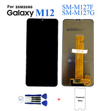 For Samsung M12 M127 SM-M127F Display Lcd Screen Replacement For Samsung M12 SM-M127G Lcd Display Touch Screen Complete Module