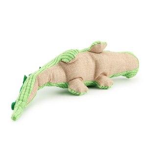 Image 3 - Krokodyl zabawki dla psów pluszowy miękki kot piszcząca zabawka zabawka dla zwierząt interaktywne ugryzienie zabawki dźwiękowe Chihuahua zabawki dla szczeniąt