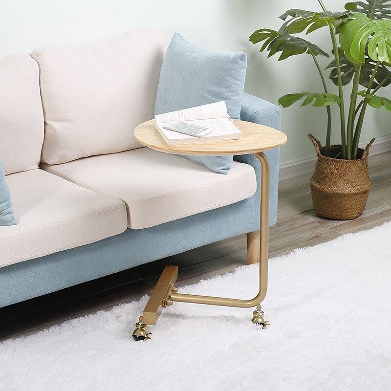 Nordic Sofa Modern Simple Living Room Solid Wood Creative Bedside Table
