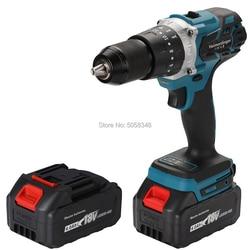 18V 13mm cordless impact drill 18V 13mm brushless impact drill 18V impact drill 18V screwdriver drill with two 4.0 Ah batteries