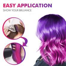 50ML Color Changing Wonder Dye Hair Disposable Dye Gray Hair Color Cream Thermo Sensing Shade Shifting Hair Color Wax