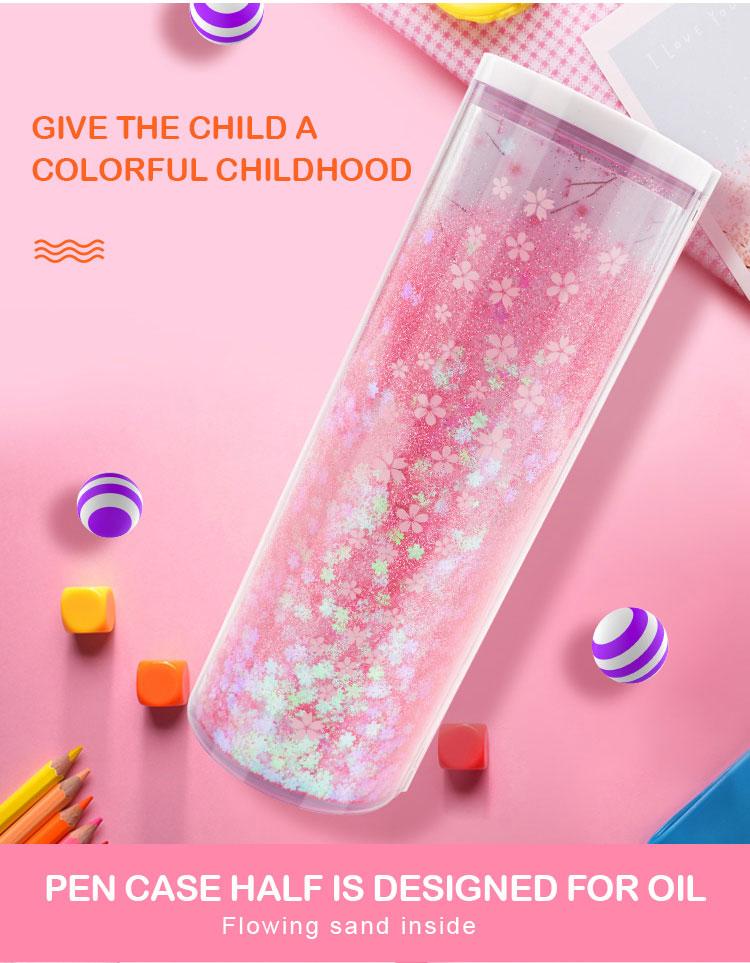 caixa titular escola criativa suprimentos para menina
