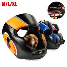 M/L/XL Детский Молодежный/взрослый Женский Мужской боксерский шлем для смешанных боевых искусств Муай Тай Санда каратэ тхэквондо защита головы Део
