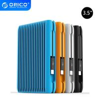 Orico 2 TB Hard Disk USB 3.1 Gen2 TYPE C 3.5 Sata 10Gbps High Speed Shockproof External Hard Drives HDD Laptop Mobile EU Plug