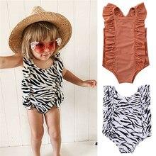 Roupa de banho para meninas recém-nascidas, maiô e roupa de praia para monokini