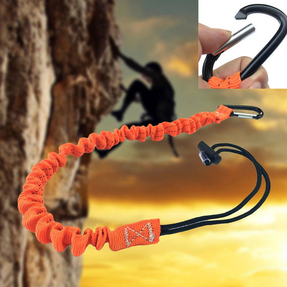 Carabiner Lanyard Retractable Safety Rope Telescopic Elastic Climbing Tool Anti-fall Safety Rope