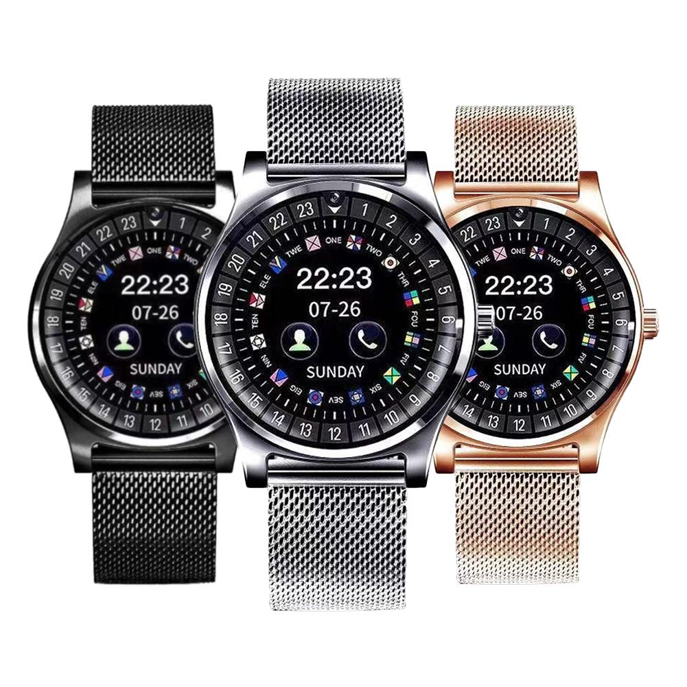 Smart Watch Men Women Fitness Tracker Phone Call Color Screen TF SIM Card Bluetooth Music Camera Sports watch Smartwatch Android