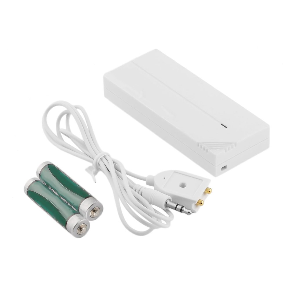 LESHP PH-10 Professional Wired Water Overflow Leakage Alarm Sensor Detector Home Security Alarm System Device White New