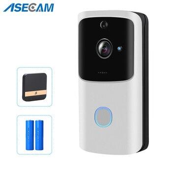WIFI Doorbell Wireless Smart Home Door Bell Camera 720P HD Battery AC Power Video Doorbell Security Camera 2 Way Audio wi fi video smart doorbell with 2 ways audio and video sensor1280 x 720 field of view180 degree video hd 720p