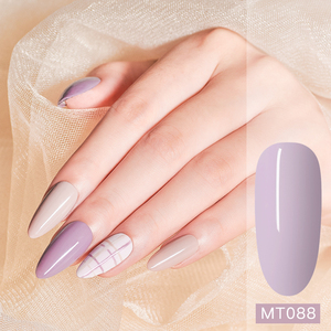 Mtssii Гель-лак для ногтей Morandi, чистый цвет, 6 мл, отмачиваемый УФ-светодиодный Гель-лак для маникюра, сделай сам, лак для дизайна ногтей, украшение для ногтей
