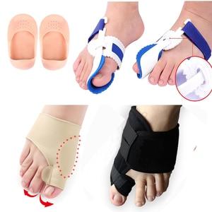 Image 1 - Bunion Corrector Splint Big Bone Straightener Foot Hallux Valgus Correction Orthopedic Toe Separator Pedicure Tool Pain Relief