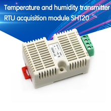 Temperature and Humidity Transmitter RS485 Serial Communica Temperature Sensors Modbus RTU Acquisition Module SHT20 image
