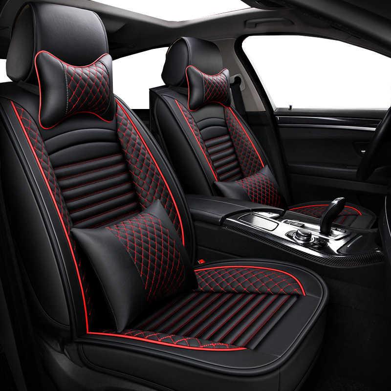 Couverture complète en Éco-cuir sièges auto housses de siège auto en cuir synthétique polyuréthane Couvre pour lexus ct est es js jsf lc ls gx lx rx 200 250 300 350