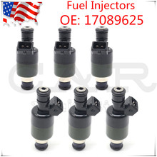 Set of 6pcs Auto Repair Kit for Isuzu Trooper Rodeo for Honda Passport 3.2L V6 Fuel Injector Injection Nozzle 17089625