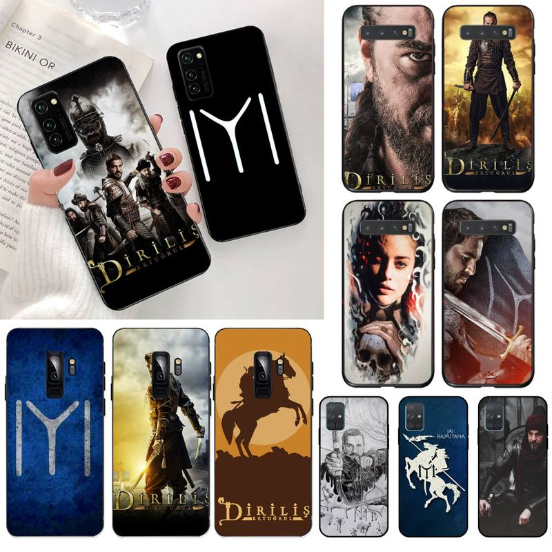 dirilis ertugrul Custom Photo Soft Phone Case for Samsung S20 plus Ultra S6 S7 edge S8 S9 plus S10 5G lite 2020