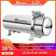 ويلتون 304 فلتر مياه الفولاذ غير القابل للصدأ فلتر PVDF الترشيح الفائق ، 1000L ، التجارية الرئيسية مطبخ شرب مستقيم UF مرشحات