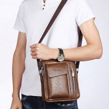 Luxury Brand messenger bag men leather shoulder bag  Handbag  Large Brand New Fashion Free shipping