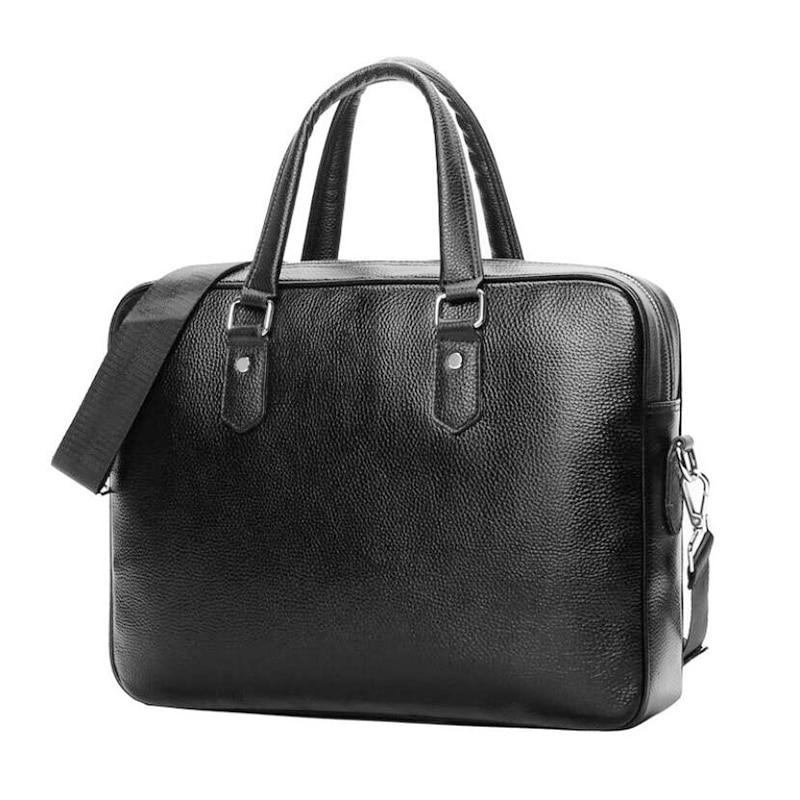 Brand Men Handbags Genuine Leather Men's Briefcase Business Laptop Bag Man Shoulder Bag Casual Crossbody Bags Male Messenger Bag