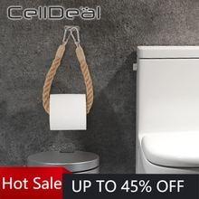 Винтажный держатель для туалетной бумаги с подвеской полотенец