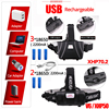 3 Modes XHP-70 2 Led Headlamp Fishing Camping Headlight High Power Lantern Head Lamp Zoomable USB Torches Flashlight 18650 review