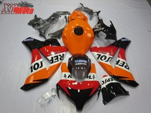 цена на Motorcycle Fairing Kit For Honda CBR1000RR 2008-2011 Injection ABS Plastic Fairings CBR 1000RR 08-11 Gloss Repsol Bodyworks