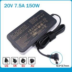 Nueva 20V 7.5A cargador ajuste para ADP-150CH B A18-150P1A Asus Rog G531GT G731GT FX505GT FX705GT FX505DD FX505DT FX505DU FX70