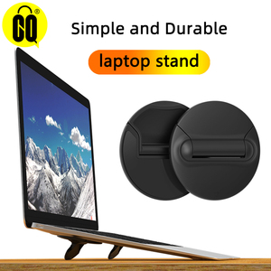 Image 1 - Hot Laptop Stand Mini Portable Cooling Pad for MacBook Notebook Skidproof Pad Cooler Stand for Laptop Mobile Phone Holder