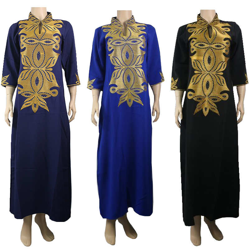 Md African Dresses For Women Bazin Riche Africa Dress Plus Size Traditional African Long Dress African