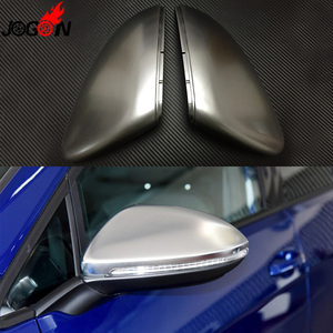Image 4 - 2PC For VW GOLF 7 MK7 MK7.5 GTI R GTE GTD 2013   2019 Touran 2016 2017 ABS Side Rear view Mirror Cover Replacement Caps Shell