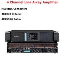 جديد 4 قناة مكبر للصوت FP10000Q خط صفيف مكبر للصوت الصوت المهنية Dj مكبر كهربائي مضخم للصوت امدادات الطاقة