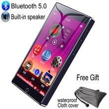 RUIZU مشغل MP3 H1 ، شاشة تعمل باللمس بالكامل ، بلوتوث ، 8 جيجابايت ، مع مكبر صوت مدمج ، دعم راديو FM ، تسجيل فيديو ، كتاب إلكتروني