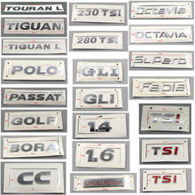 Polo golfe bora jette passat tiguan touran cc fabia octavia superb 1.4 1.6 tsi 1.4 1.6 abs galvanoplastia volta auto logotipos sinal