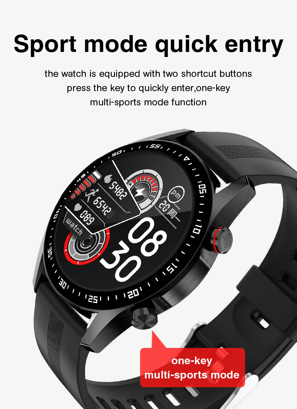 Hf00c714a0ba14c8193946bfa60c1d0823 E1-2 Smart Watch Men Bluetooth Call Custom Dial Full Touch Screen Waterproof Smartwatch For Android IOS Sports Fitness Tracker