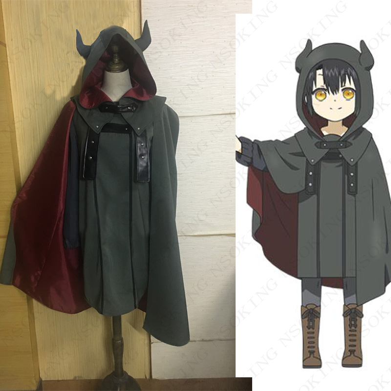 Anime Somali To Mori No Kamisama Somali And The Forest Spirit Somali Coat Cosplay Costume Customzied