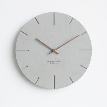 Bedside Mute Wood Wall Clock Minimalist Living Room Hanging Watches Home Decor Watch Modern Design Creative Wall Clocks
